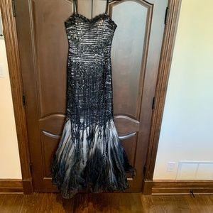 Sherry haute Couture Gown Size 8